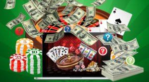 لعب القمار من اجل المال الحقيقى على الانترنت