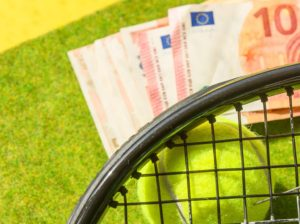 المرهنات على كورة التنس