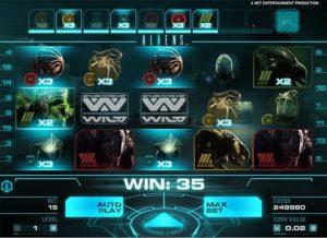 استعراض لعبة فتحة Aliens