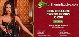 كازينو على الانترنت والرياضة الرهان الموقع Shangri La