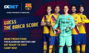 Guess Barca score