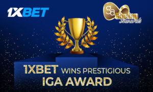 1xbet wins IGA 2020
