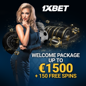 1xbet welcome package