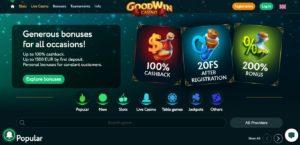 Goodwin Casino مراجعة