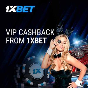 VIP cashback 1xbet